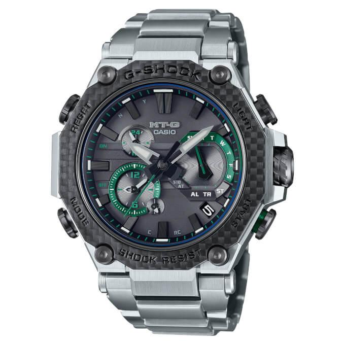G-Shock MTG-B2000XD-1A Carbon Fiber Bezel