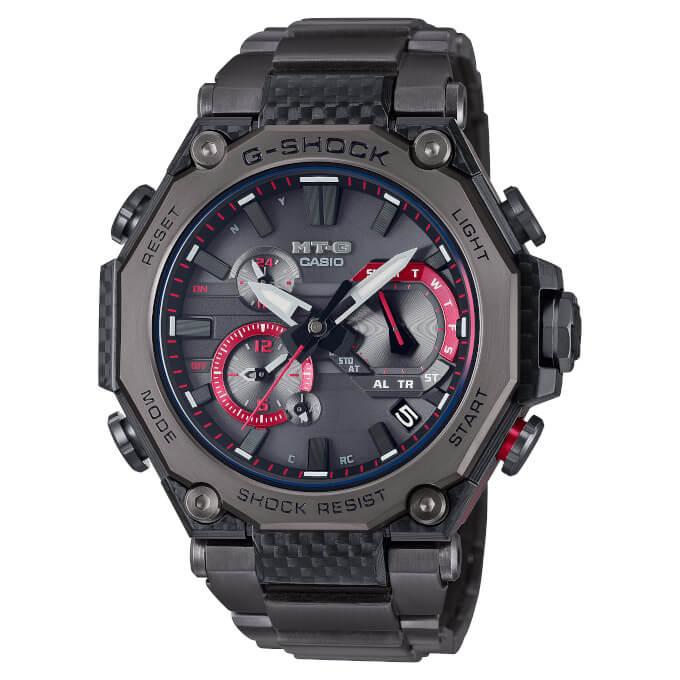 G-Shock MTG-B2000YBD-1A Carbon Fiber Bezel Frame