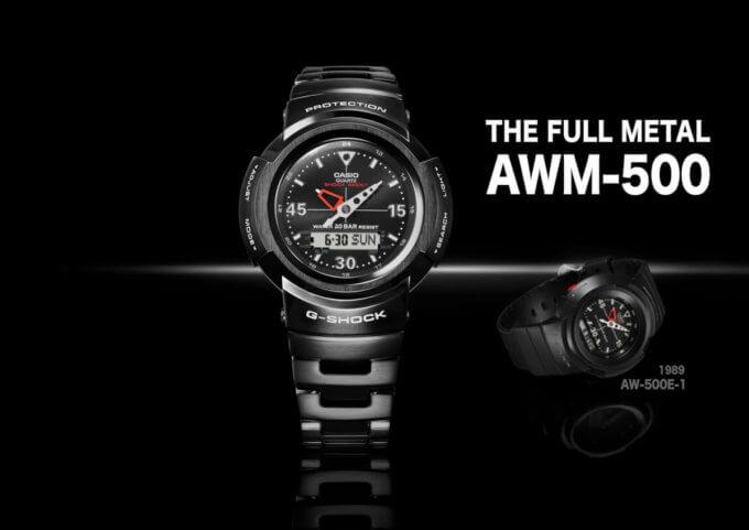 G-Shock AWM-500-1A