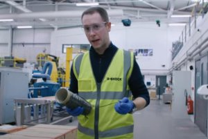 Casio U.K. visits carbon fiber maker Toray Advanced Composites