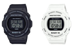 """BGD-5000U and BGD-5700U: Baby-G Japan has its own """"U"""" line with updated module and LED light"""