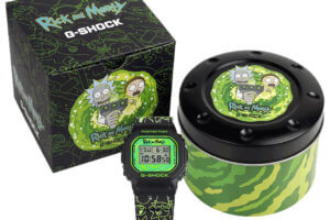 Rick and Morty x G-Shock DW5600RM21-1 collaboration watch announced for U.S. release