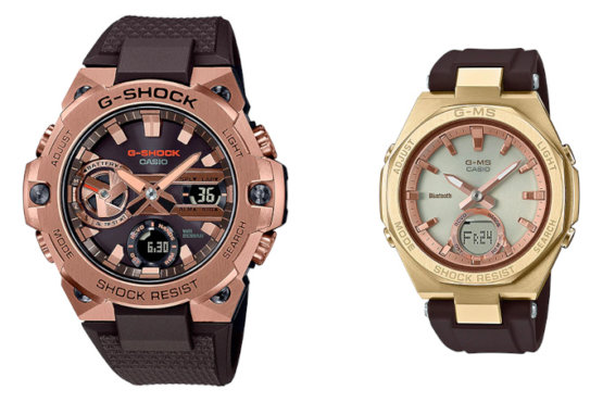 Mars and Venus Concept Pair: G-Shock GST-B400MV-5A & Baby-G MSG-B100MV-5A