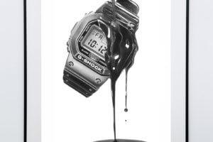 G-Shock DW-5600 Tribute Art Prints at ABlogtoWatch