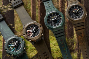 G-Shock Mystic Forest Series with GA-2100FR and GA-2200MFR