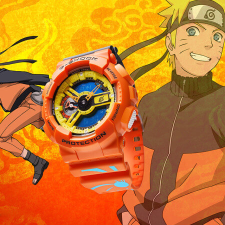 G-Shock GA-110NAR21-4PFN Naruto Naruto Uzumaki