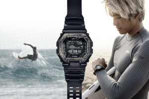 Kanoa Igarashi x G-Shock GBX-100KI-1 is the second collaboration with the Olympic medal-winning pro surfer