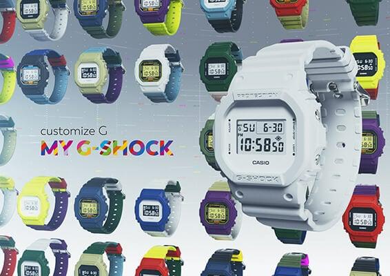 My G-Shock Custom Watch Service