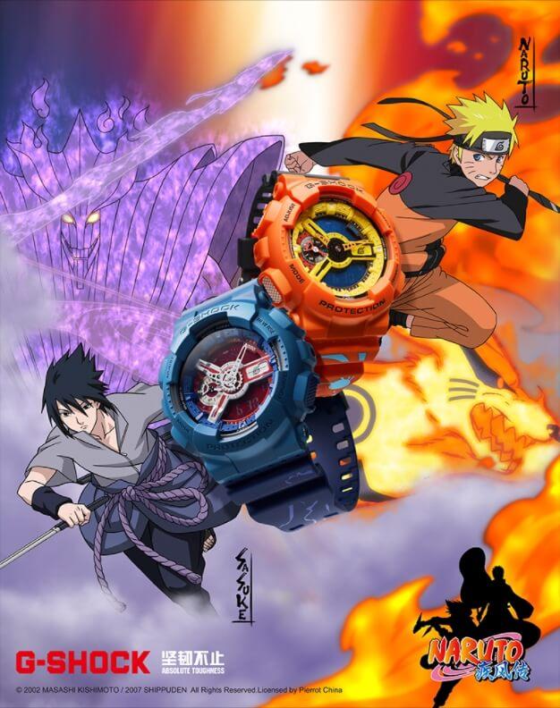 Naruto x G_Shock