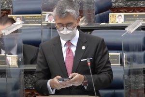 Malaysia Finance Minister Tengku Zafrul wears G-Shock