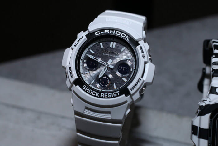 G-Shock AWG-M100SBW-7JF White and Black Series