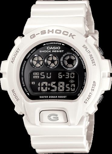 DW6900NB-7 White G-Shock Watch