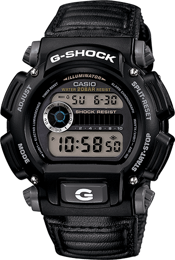 G-Shock DW9052V-1: Cheap G-Shock With Nylon Band