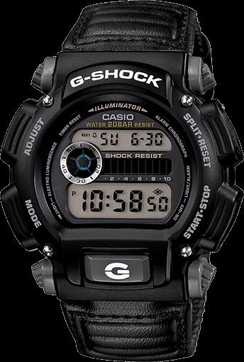 G-Shock DW9052V-1: Cheap G-Shock With Nylon Band