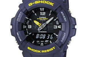 G-Shock G-100 classic analog watches: G-100-1BV, G-100-2BV, G-100-9CM, G-100-1BJF the POOL aoyama