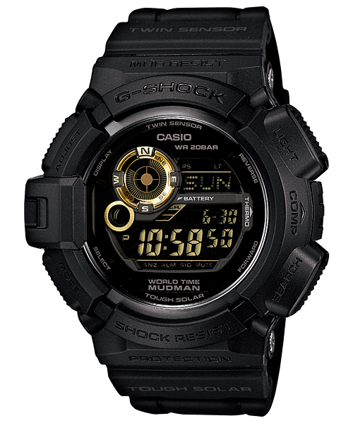 G-9300GB-1 Black And Gold Mudman