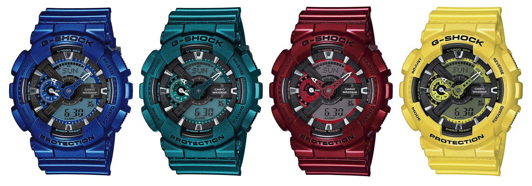 b43bff85c23 G-Shock GA-110NM Neo Metallic Series – G-Central G-Shock Watch Fan Blog