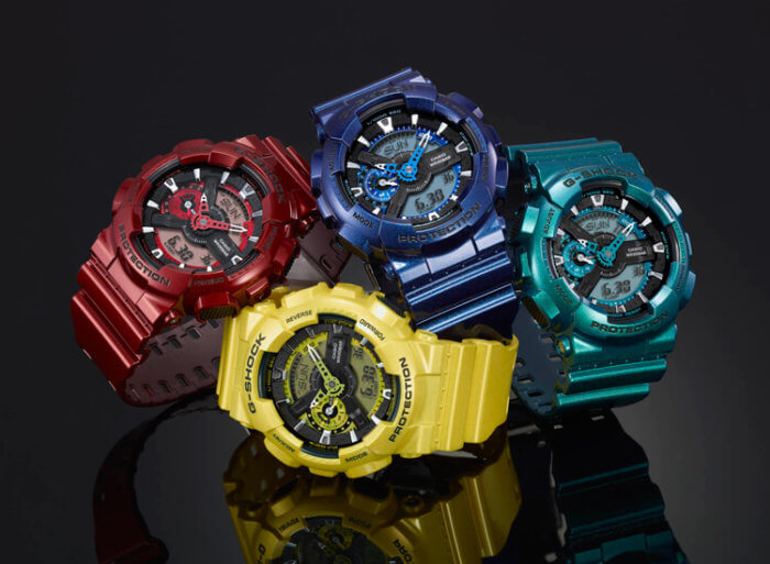 G-Shock GA110NM Neo Metallic Series