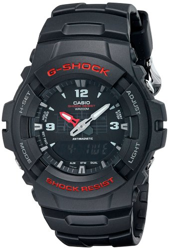 G-Shock G100-1BV: Cheap Analog-Digital G-Shock