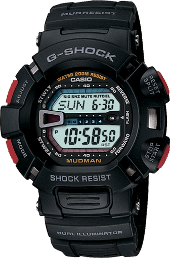 G-Shock G9000 Mudman: Affordable Advanced G-Shock