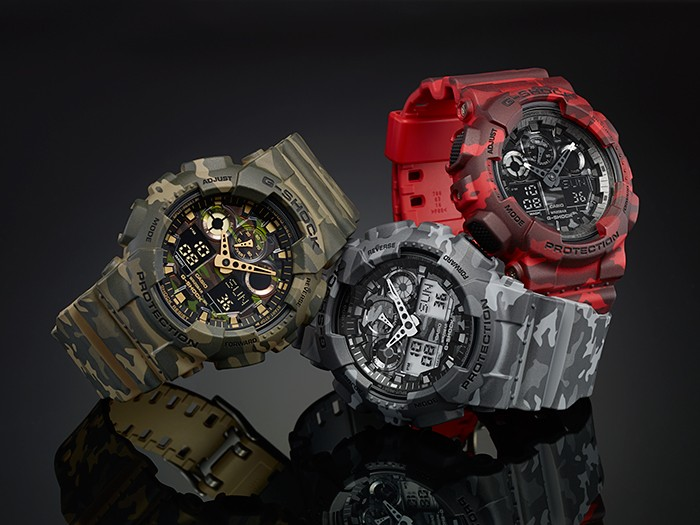 the top camouflage g shock watches g central g shock. Black Bedroom Furniture Sets. Home Design Ideas