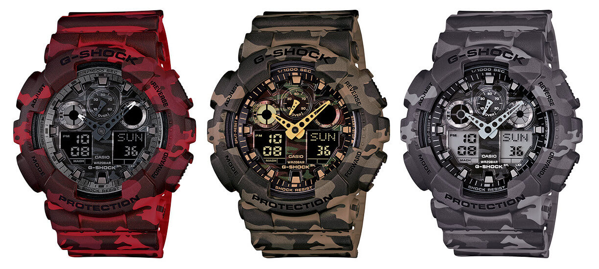 The Top Camouflage G-Shock Watches – G-Central G-Shock ...