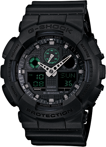 GA100MB-1A G-Shock Military Analog-Digital Watch