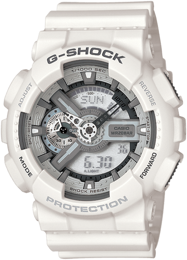 GA110C-7A White G-Shock Watch