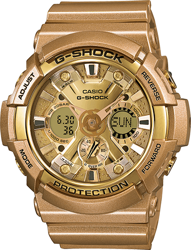 Gold G-Shock GA200GD-9A