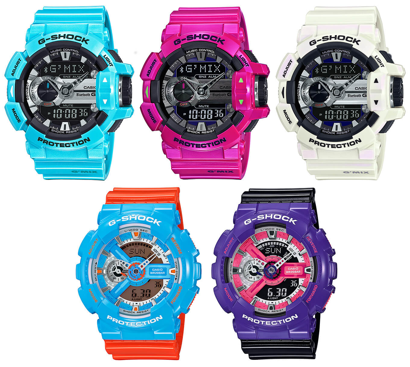 newest 610b4 3cd37 New G-Shock GBA-400 and GA-110NC Colors – G-Central G-Shock ...