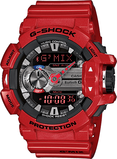 Red G-Shock GBA400-4A G'MIX