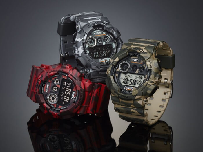 GD-120CM Camo G-Shock Watches