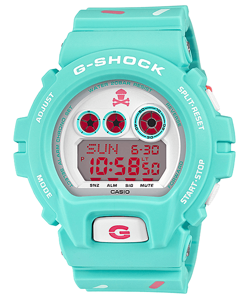 Johnny Cupcakes x G-Shock GD-X6900JC-3 Collaboration Watch
