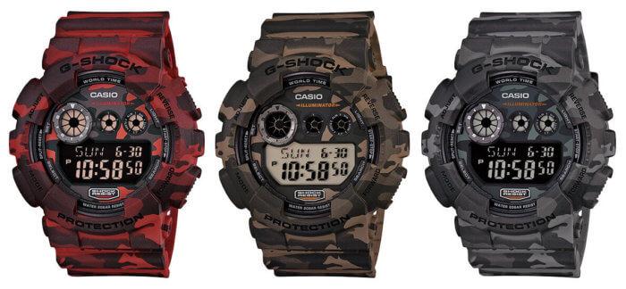 G-Shock GD-120CM Camo Series