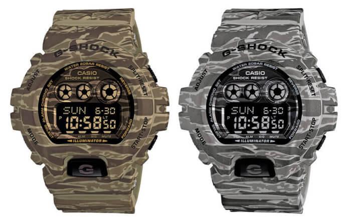 G-Shock GD-X6900CM Camo Series