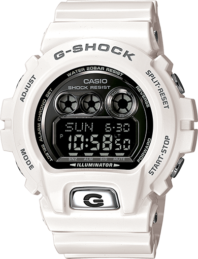GDX6900FB-7 Large Glossy White G-Shock Watch