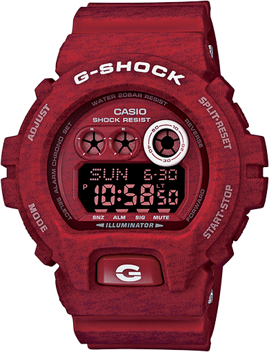 G-Shock GDX6900HT-4 Red Heathered Series
