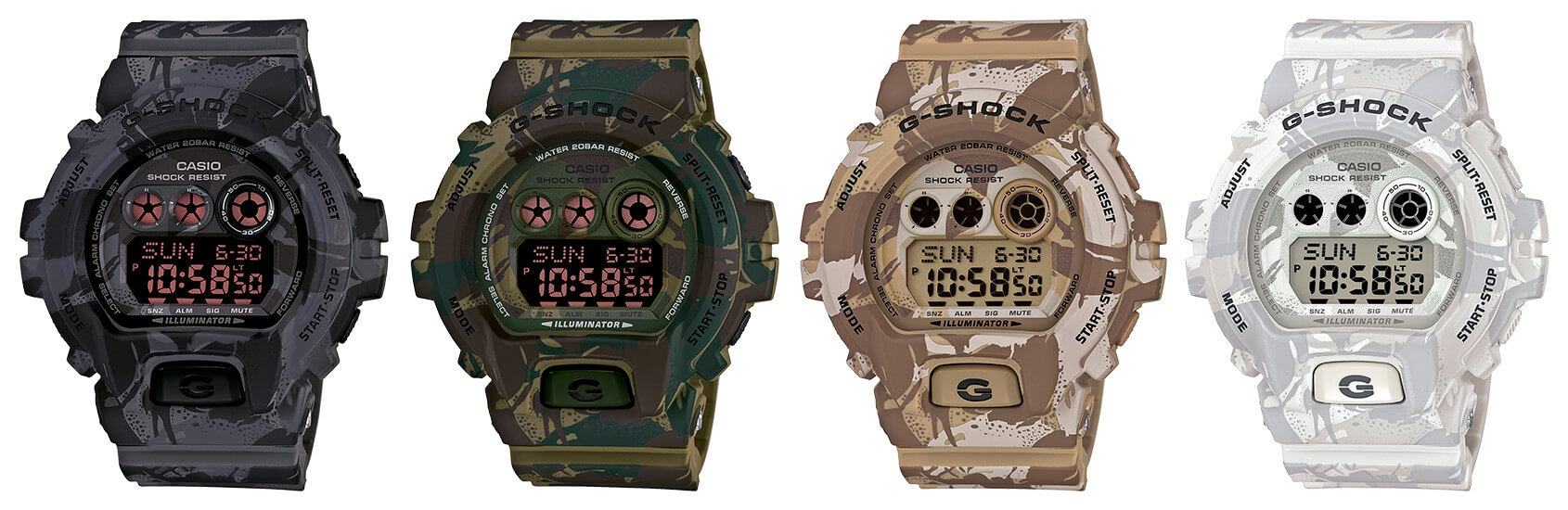 a300c1750f4c The Top Camouflage G-Shock Watches – G-Central G-Shock Watch Fan Blog