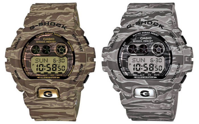 G-Shock GD-X6900TC Tiger Camouflage Series
