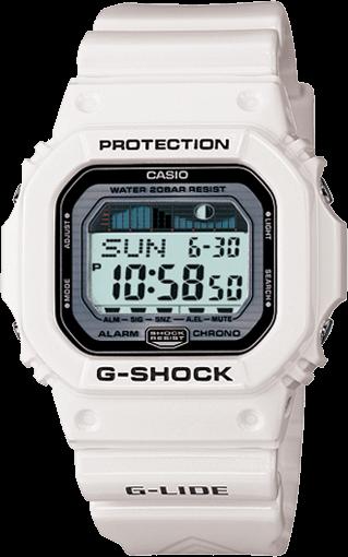GLX5600-7 White G-Shock Watch for Surfing
