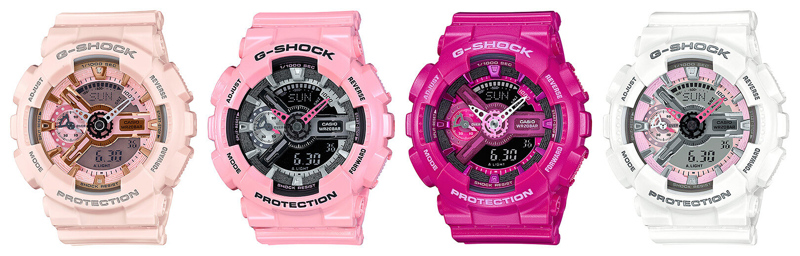 G Shock Gma S110mp Pink S Series Watches G Central G