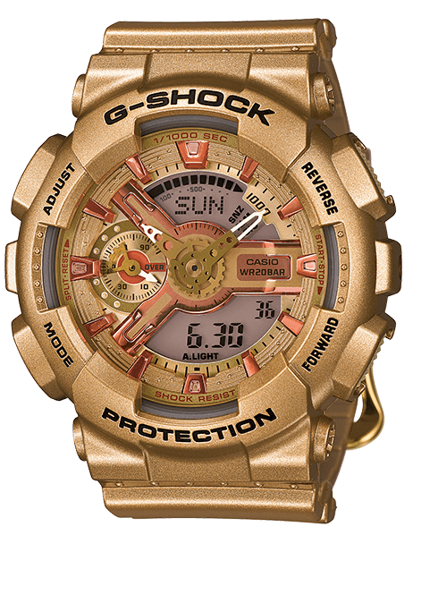 Gold G-Shock S Series GMAS110GD-4A2