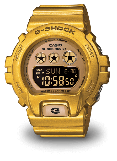 Gold G-Shock S Series