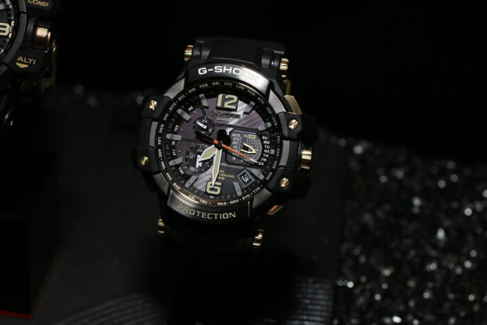 Black and Gold GPW-1000GB-1A Gravitymaster