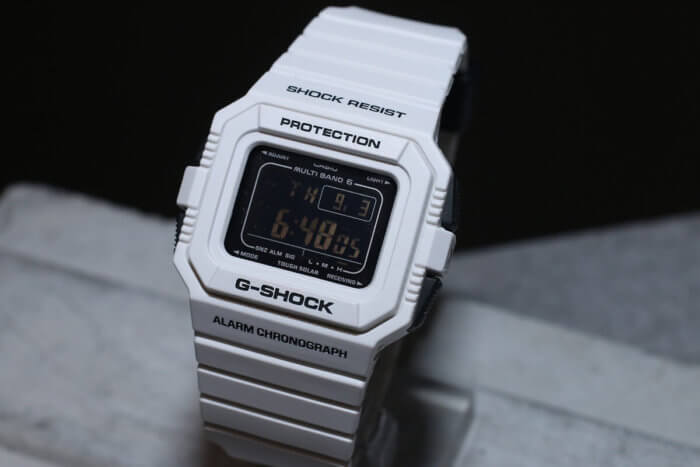 G-Shock GW-5510BW-7JF White and Black Series