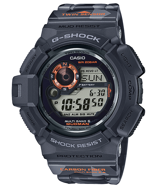 GW-9300CM-1JR Men In Camouflage Mudman