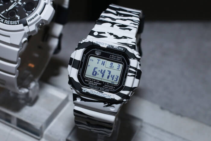 G-Shock GW-M5610BW-7JF White and Black Series