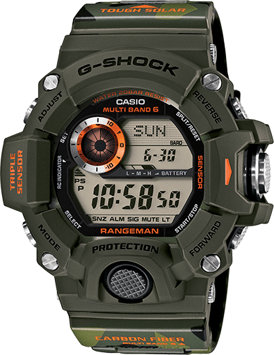 Casio G Shock Rangeman Gw 9400 All Models Released G