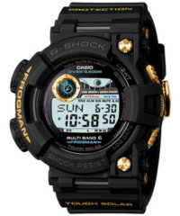 GWF-1000G-1JR Black And Yellow Gold Frogman