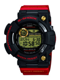 GWF-T1030A-1JR 30th Anniversary Rising Red Titanium Frogman
